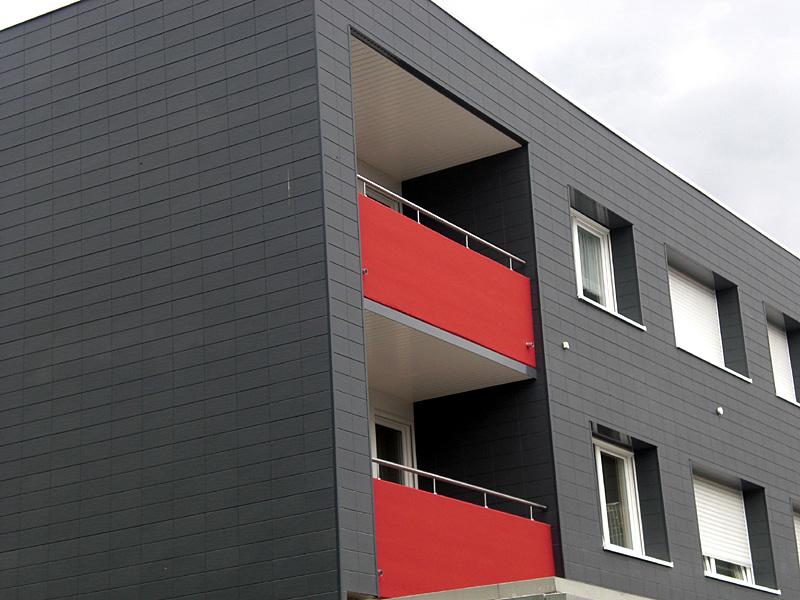 fassadenverkleidung kunststoff zierer terra gfk. Black Bedroom Furniture Sets. Home Design Ideas